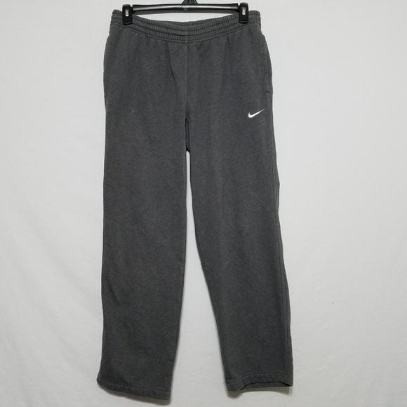 Nike Mens Large Dark Grey Sweatpants Pants Joggers
